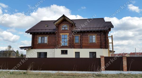 Строительство комбинированного дома специалистами Кровмаркет