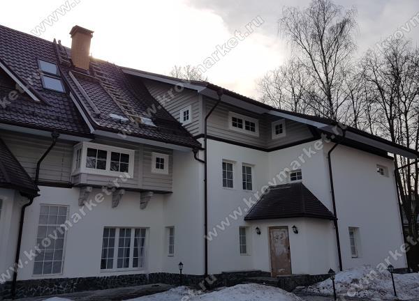 Большие комбинированные дома
