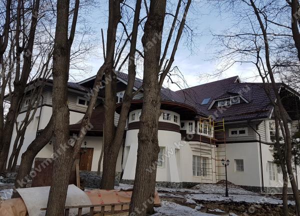 Проектирование комбинированного дома